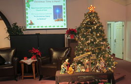 2-NCCC Christmas Tree and Creche 2013