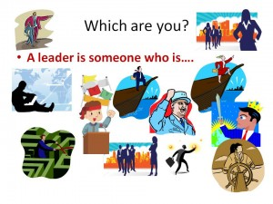 A Leader is