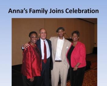 Anna and Family at DSA Award.JPG